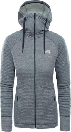 The North Face ženska jopa Women'S Hikesteller Midlayer - Sg Urban Navy/Tin Grey, S, siva