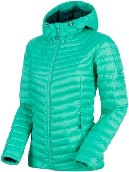 Mammut Convey In Hooded Jacket Women Atoll-Teal M
