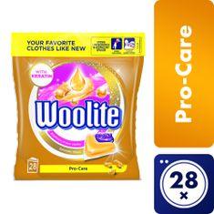 Woolite gel kapsule Pro-Care, 28 kosov