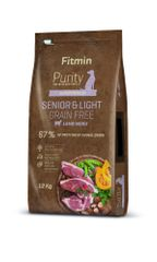 Fitmin Dog Purity GF Senior & Light Lamb, jagnjetina, 12 kg