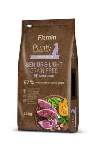 Fitmin Dog Purity GF Senior & Light Lamb, jagnjetina, 12 kg
