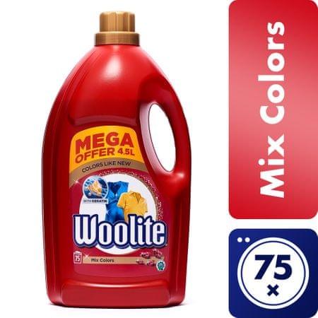 Woolite Extra Color Mosószer, 4,5 l (3 + 1,5 l)