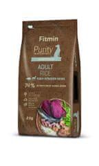 Fitmin pasja hrana Dog Purity Rice Adult Fish & Venison, riba, 2 kg