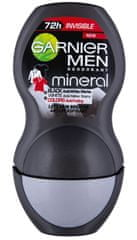 Garnier deodorant Mineral Men Invisible Black, White &Colors Roll-on, 50ml