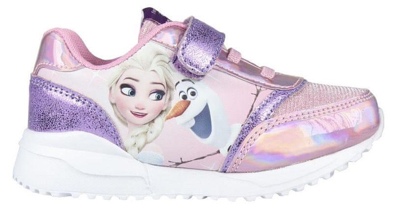 Disney dívčí tenisky Frozen 24 růžová