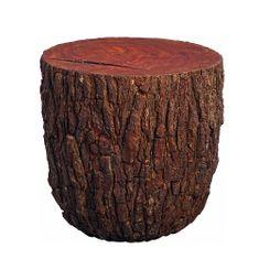 Artenat Konferenční stolek Drago, 54 cm, borovice s kůrou