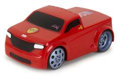 Little Tikes Interaktivní autíčko - červený náklaďák