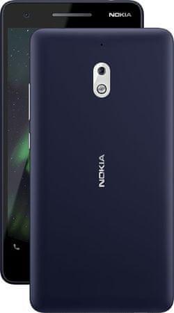 Nokia 2.1, Dual SIM, Blue/Silver