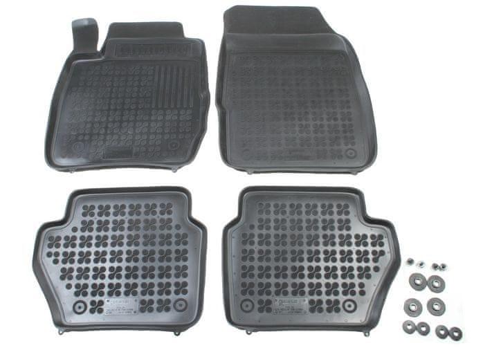 REZAW-PLAST Gumové koberce, sada 4 ks (2x přední, 2x zadní), Ford Fiesta VI od r. 2008