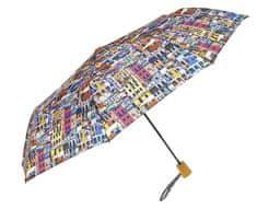 Blooming Brollies Dámský skládací deštník Perletti The Houses 25810A