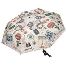 Blooming Brollies Dámský skládací plně automatický deštník Coynes Travel Folding COFTR