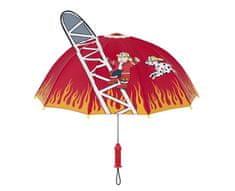 Blooming Brollies Dětský holový deštník Kidorable Fire Chief U0100FIR