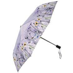 Blooming Brollies Dámský plně automatický skládací deštník Classy Wild Flowers 21191A