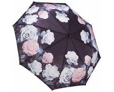 Blooming Brollies Dámský skládací plně automatický deštník Galleria Vintage Rose GFFVR