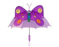 Blooming Brollies Dětský holový deštník Kidorable Butterfly U0100BY