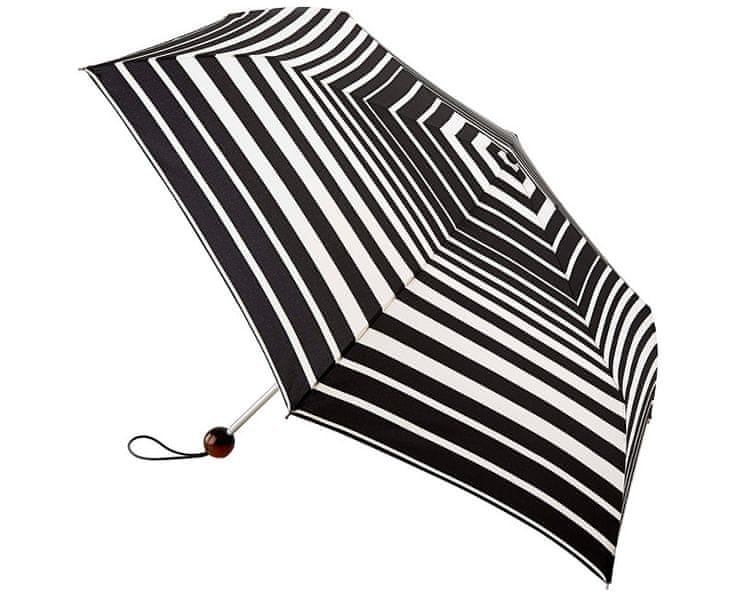 Dámský skládací mechanický deštník Superslim 2 Bold Stripe L553