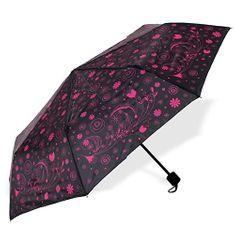 Albi Skládací deštník s růžovými květy