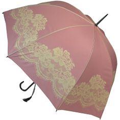 Blooming Brollies Dámský deštník Pink Vintage lace