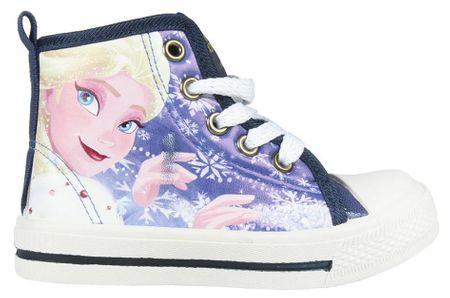 Disney dívčí kotníkové boty Frozen 25 modrá