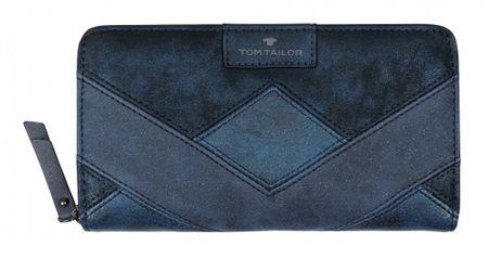 Tom Tailor dámská modrá peněženka Miri Geo