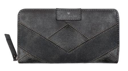 Tom Tailor Női sötétszürke pénztárca Miri Geo