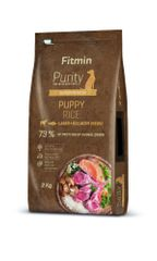 Fitmin hrana za pse Dog Purity Rice Puppy Lamb & Salmon, 2 kg