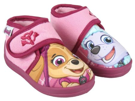 Disney dívčí bačkůrky Paw Patrol 21 ružová