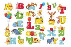 Graham & Brown stenska dekorativna nalepka, Winnie The Pooh abeceda