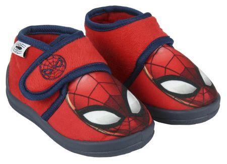 Disney chlapecké bačkůrky Spiderman 23 červená