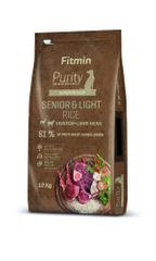 Fitmin Dog Purity Rice Senior & Light Venison & Lamb 12 kg