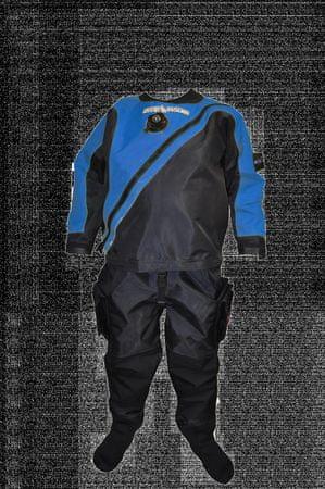 Oblek trilaminátový SOLO LIGHT - barva dle výběru, Dive system, modrá, L Slim