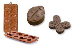 Ibili Silikonová forma na čokoládu motýlci a berušky