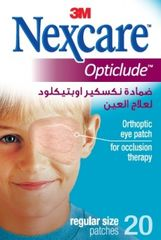 Nexcare očesni obliži Opticlude Regular, 8 x 5,5 cm, 20 kosov