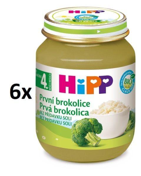 HiPP BIO První brokolice - 6 x 125g