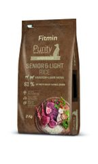 Fitmin hrana za pse Dog Purity Rice Senior & Light Venison & Lamb, 2 kg