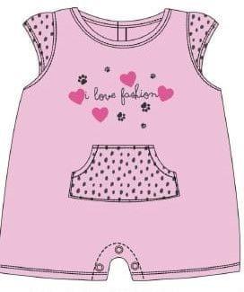 Losan dívčí pyžamo 68 růžová