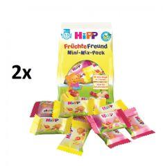 HiPP BIO Ovocné oplatky 10 ks - 2 příchutě (2 x 100 g)