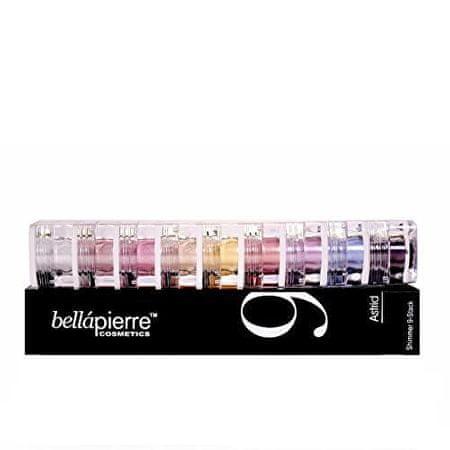 Bellapierre Sada multifunkčních kosmetických prášků (Stack Shimmer Powders) (Odstín Iris)