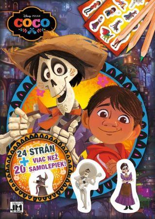 Disney/Pixar: Vymaľovanka A4+/ Coco