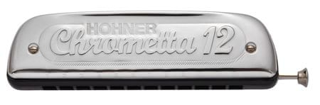 Hohner Chrometta 12 C Foukací harmonika