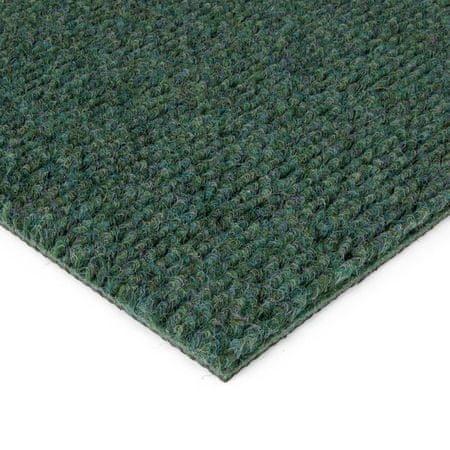 FLOMAT Zelená kobercová vnitřní čistící zóna Catrine - 150 x 100 x 1,35 cm