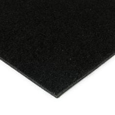 FLOMA Černá kokosová zátěžová vstupní čistící zóna Synthetic Coco - 50 x 200 x 1 cm