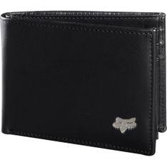 FOX pánská černá peněženka Bifold Leather