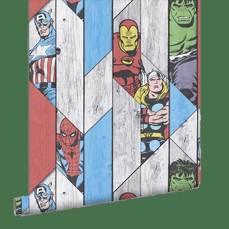 Graham & Brown tapeta Marvel Wood Panel