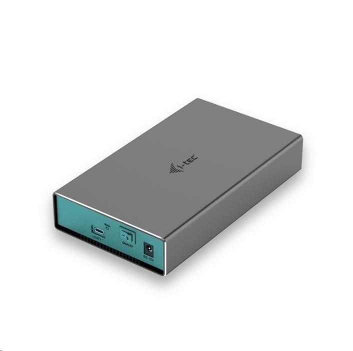 "I-TEC MySafe USB-C 3.5"" SATA HDD Metal External case 10GbpsC31MYSAFE35"