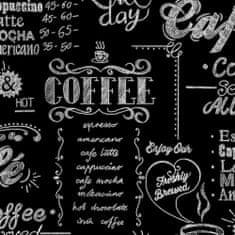 Graham & Brown tapeta SFE Coffee Shop, črno-bela