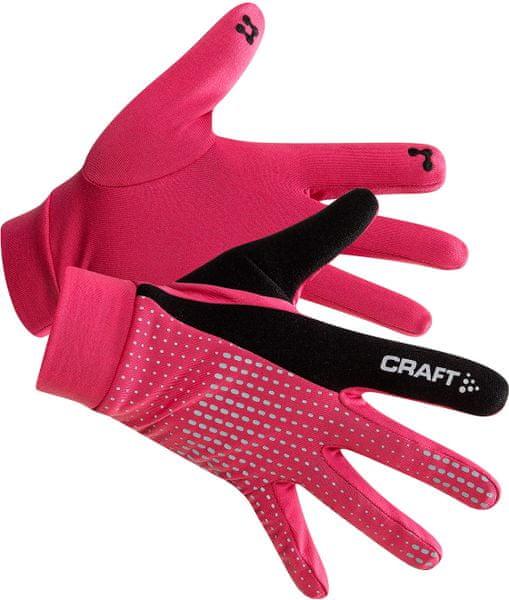 Craft Rukavice Brilliant 2.0 Thermal růžová XL