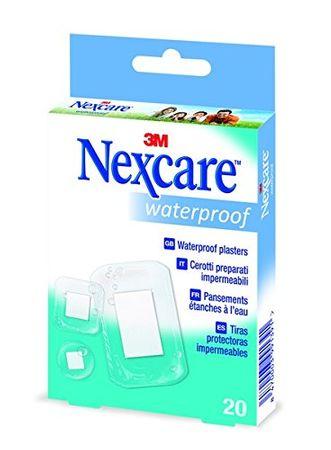 Nexcare obliži Waterproof, 20 kosov, sort