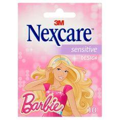Nexcare obliži Barbie Sensitive, 10 kosov