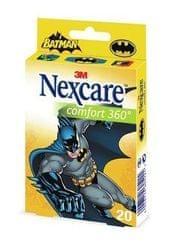 Nexcare obliži Batman Comfort,10 kosov, sort
